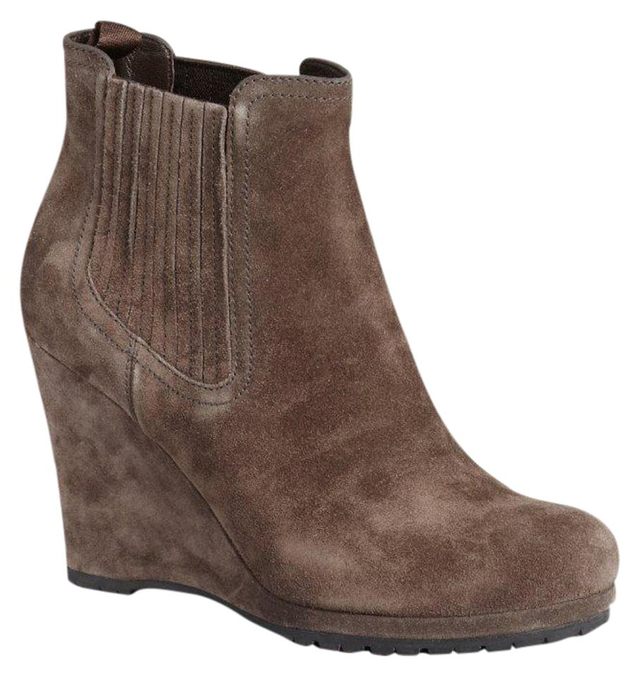 50a2fc9e879 Prada Burnished Brown Sport Suede Ankle 3tz005 Boots/Booties Size EU 38.5  (Approx. US 8.5) Regular (M, B)