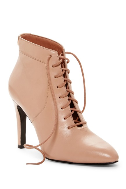 Item - Nude Box New Lace Up Leather Heels Boots/Booties Size EU 36 (Approx. US 6) Regular (M, B)