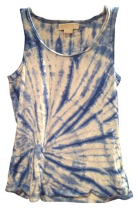 Michael Kors Top Blue Tie dye