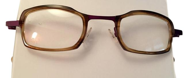Item - Tortoise with Orchid Flou Handmade Frame