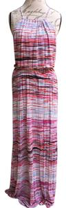 Multi Maxi Dress by Saint Tropez West Designer Maxi Colorful Maxi