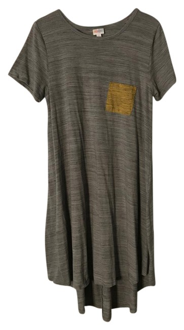 Item - Grey Jersey Carly Mid-length Casual Maxi Dress Size 14 (L)