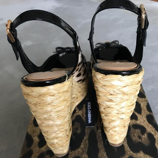 Dolce&Gabbana black and beige Platforms