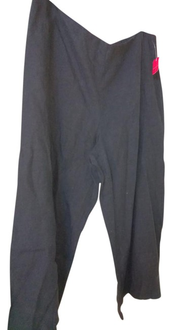 Preload https://img-static.tradesy.com/item/22017684/eileen-fisher-black-large-pants-capris-size-12-l-32-33-0-1-650-650.jpg