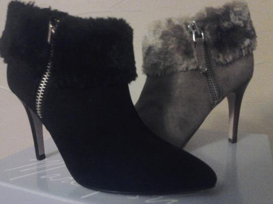 Marc Fisher New With Tags Classic Vintage Faux Fur Black Boots