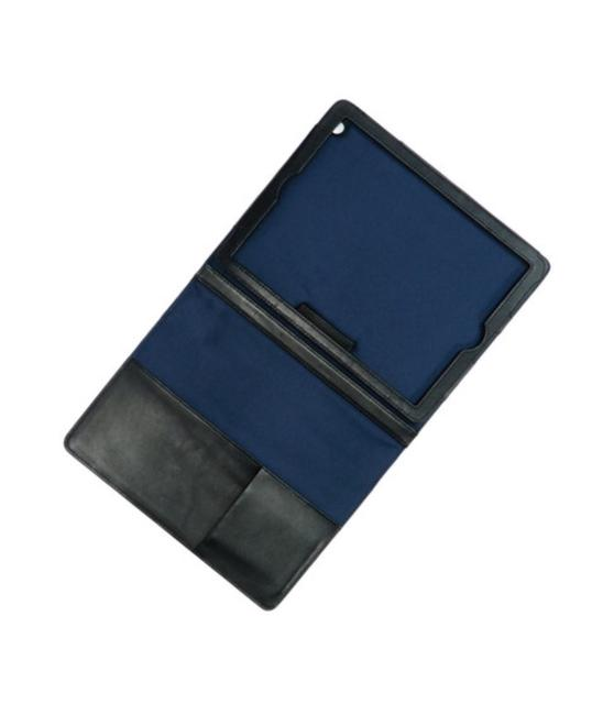 Item - Black Leather Work Easel Tablet/Ipad Case New Tech Accessory