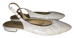 Vaneli White Sandal Pumps