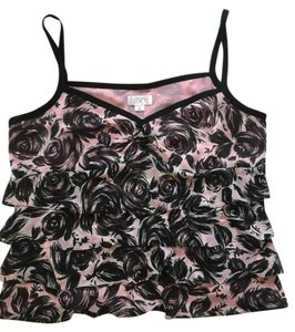 Ann Taylor LOFT Top Black ,Pink, White