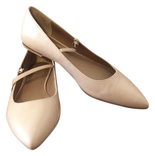 Calvin Klein Nude Womens Gracy Mary Jane Flats Size US 8
