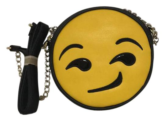 Preload https://img-static.tradesy.com/item/22017929/olivia-m-black-and-yellow-cross-body-bag-0-1-540-540.jpg