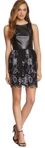Love Ady short dress Black/White on Tradesy