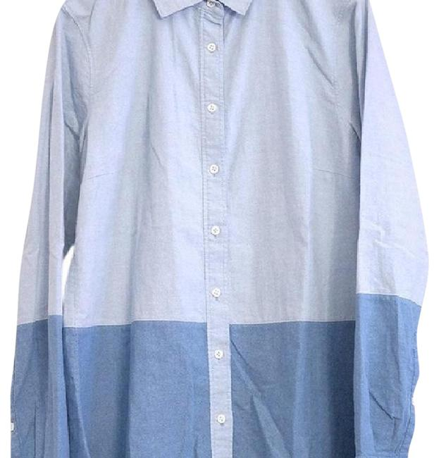 Preload https://img-static.tradesy.com/item/22018094/jcrew-light-blue-with-darker-blue-color-block-boy-shirt-in-oxford-button-down-top-size-4-s-0-3-650-650.jpg