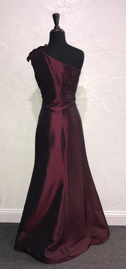 Daymor Couture Ruby Silk Taffetta 212 / Formal Bridesmaid/Mob Dress Size 12 (L)