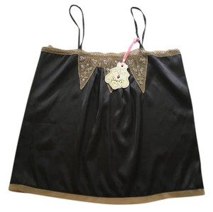 Poof! Apparel Top Black, taupe, iridescent sequins