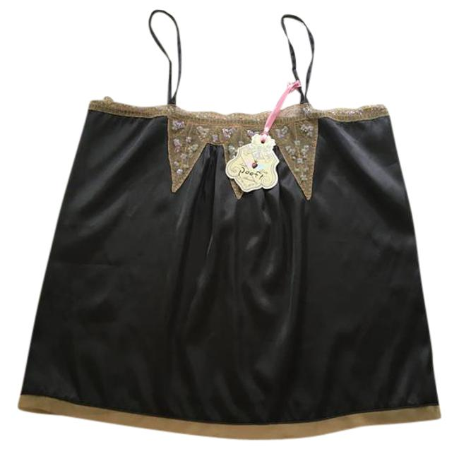Preload https://img-static.tradesy.com/item/22018134/poof-apparel-black-taupe-iridescent-sequins-classy-satin-colored-mesh-with-tank-topcami-size-10-m-0-1-650-650.jpg