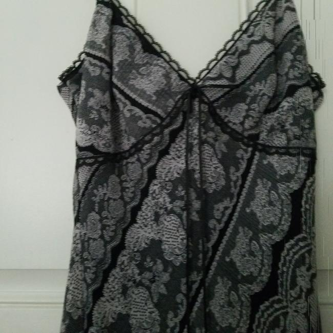Forever 21 short dress Black/grey Misses Lace Lace Trim on Tradesy