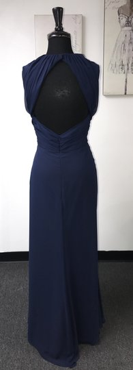 Indigo Chiffon 5183 / Jlm Formal Bridesmaid/Mob Dress Size 16 (XL, Plus 0x)