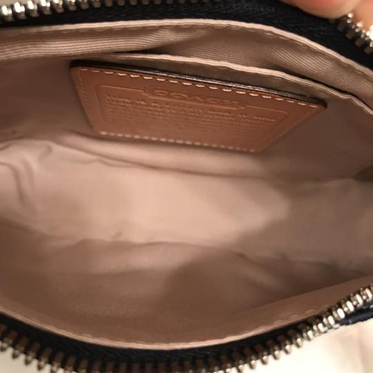 Coach Purse Handbag Hobo Leather Baguette Shoulder Bag