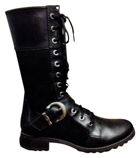 Preload https://img-static.tradesy.com/item/22018660/timberland-black-earthkeepers-lace-up-zipper-suede-leather-bootsbooties-size-us-7-regular-m-b-0-1-540-540.jpg