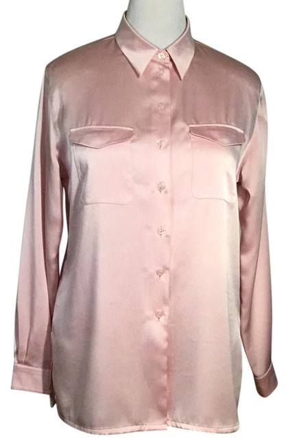 Preload https://img-static.tradesy.com/item/22018756/pink-tailored-two-pockets-collar-button-down-top-size-14-l-0-1-650-650.jpg