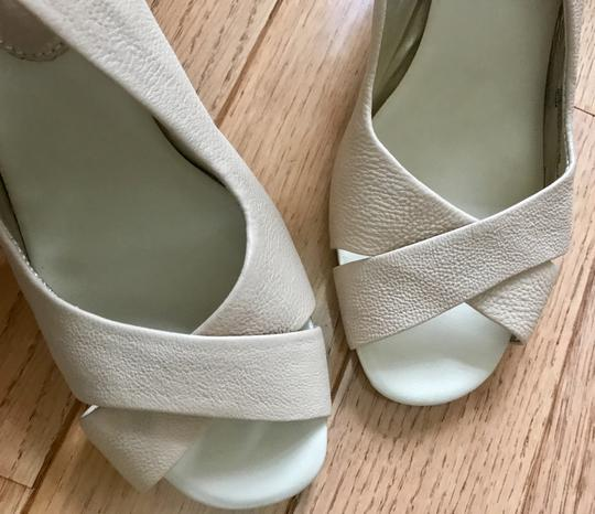 Banana Republic Heel Leather Dressy Neutral nude Sandals
