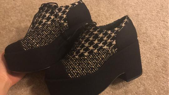Chanel Tri Wedges