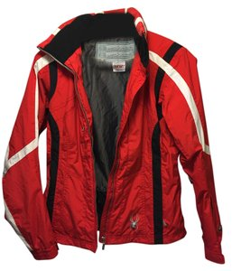 Spyder Red black and white Jacket