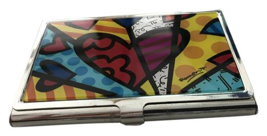 Preload https://img-static.tradesy.com/item/22019282/romero-britto-multicolor-silver-card-holder-0-1-540-540.jpg
