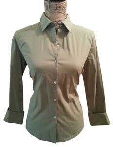 Banana Republic Button Down Shirt Mossy Green