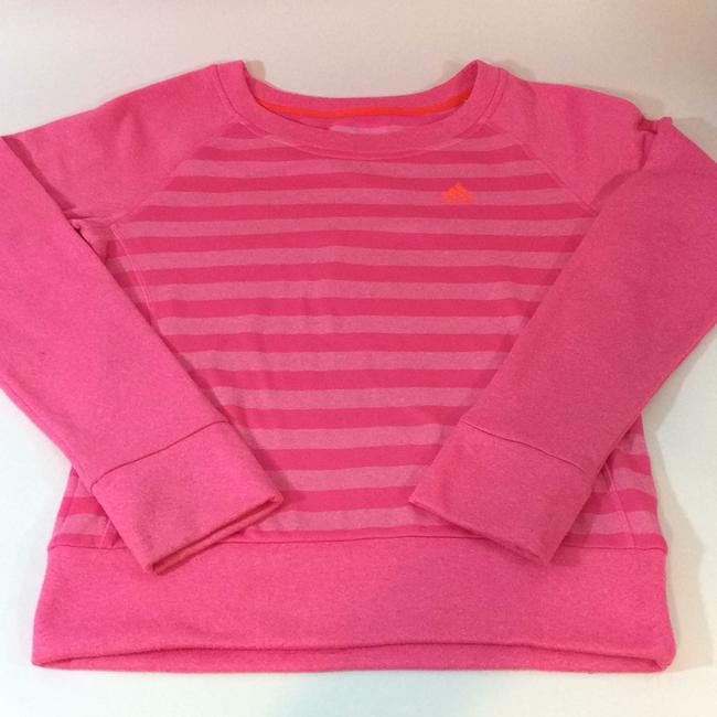 Item - Solar Pink Ultimate Fleece Crew Sweatshirt Activewear Top Size 6 (S, 28)