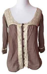 BKE Top Brown/Beige