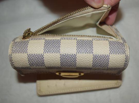 Louis Vuitton Louis Vuitton Damier Azur Canvas Koala Wallet