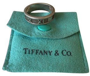 Tiffany & Co. Tiffany Sterling Silver Atlas Ring