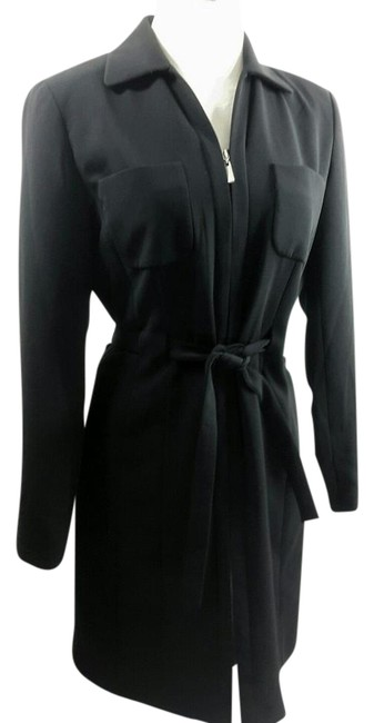 Preload https://img-static.tradesy.com/item/22019810/ann-taylor-black-belted-zipper-career-suit-pockets-mid-length-workoffice-dress-size-petite-4-s-0-1-650-650.jpg