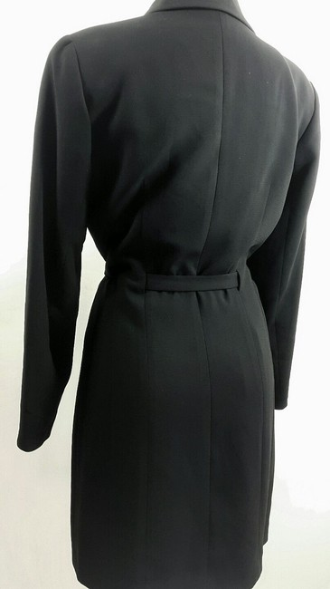 Ann Taylor Belted Zipper Shirt Pockets Petite Dress