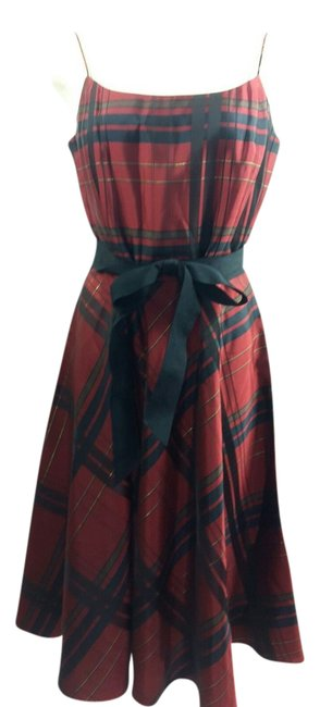 Preload https://img-static.tradesy.com/item/22019979/jessica-howard-multicolor-scottish-plaid-red-black-tea-mid-length-formal-dress-size-petite-10-m-0-1-650-650.jpg