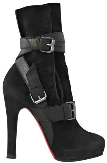 Preload https://img-static.tradesy.com/item/22020005/christian-louboutin-black-36it-guerriere-suede-high-heel-lady-fashion-toe-platform-ankle-bootsbootie-0-3-540-540.jpg