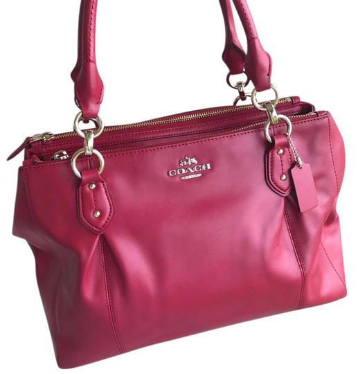 Preload https://img-static.tradesy.com/item/22020025/coach-colette-classic-shoulder-carryall-red-leather-satchel-0-1-540-540.jpg
