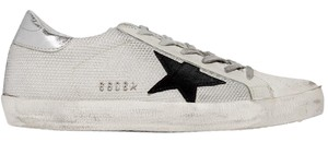 Golden Goose Deluxe Brand Distressed Sneakers Ggdb Star Silver, white Athletic