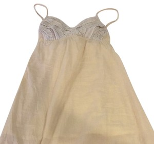 BeenThere short dress Beige With Tan And White Detailing On Top And Bottom on Tradesy