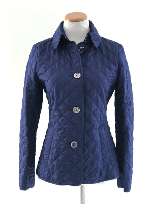 Item - Blue Copford Quilted Jacket Size 4 (S)