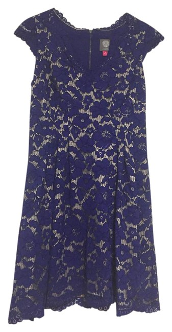 Preload https://img-static.tradesy.com/item/22020218/vince-camuto-blue-short-night-out-dress-size-6-s-0-1-650-650.jpg