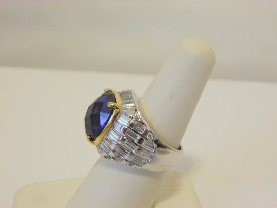 Real Collectibles by Adrienne Real Collectibles 14.86ctw CZ Tanzanite-Color Ring 7