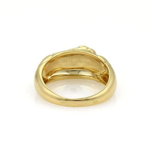 Van Cleef & Arpels Elephant Band Ring in 18k Yellow Gold