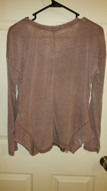 Anama Shirt Pullover Pull Long Sleeve Top Dusty Rose
