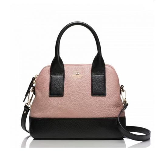 Preload https://img-static.tradesy.com/item/22020770/kate-spade-southport-avenue-small-jenny-rose-beigeblack-leather-satchel-0-0-540-540.jpg