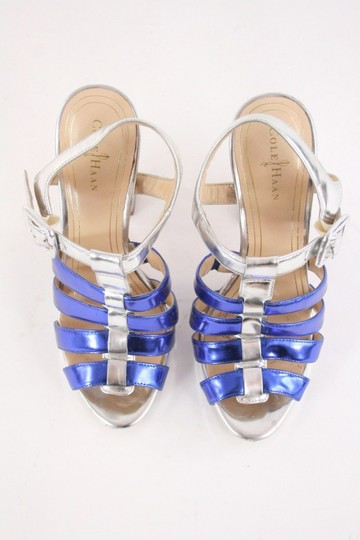 Cole Haan Heels Gladiator Cage Strappy Leather Sandals