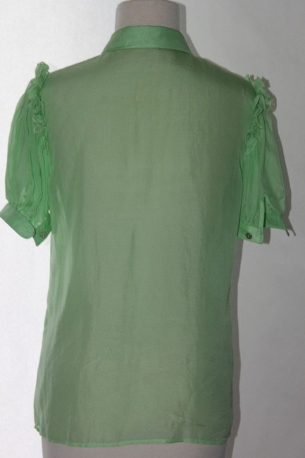 Dolce&Gabbana Evening Button Down Shirt Light Green