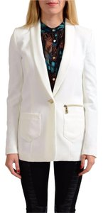 Versace Jeans Collection White Blazer