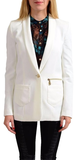 Preload https://img-static.tradesy.com/item/22020960/versace-jeans-collection-white-one-button-women-s-blazer-size-8-m-0-1-650-650.jpg